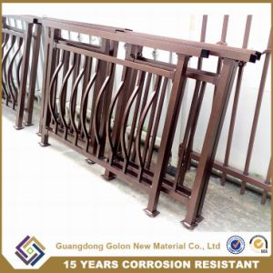 Customized Wrought Iron Balcony Railing pictures & photos