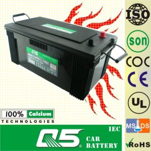 N225, 12V225AH, Long Life Mf Car Battery with UL/Coc/Soncap/RoHS/CE/ISO pictures & photos