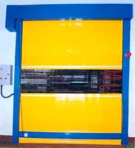 PVC High Speed Rolling Shutter Door