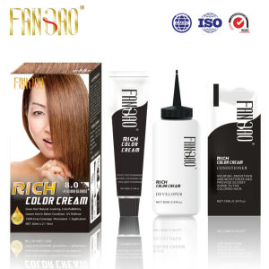 2016 Home Used Permanent Shiny Healthy Hair Color Dye