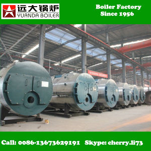 Wns 0.5-6 Tons Gas Fired Steam Boiler/Gas and Oil Boiler pictures & photos