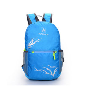 Wholesale Custom Made Fashion Students School Vintage Canvas Backpack pictures & photos