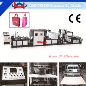 Loop Handle Thickness: 60-120g Non Woven Bag Making Machine (HBL-DC600-700-800-900) pictures & photos