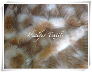 Jacquard Long Pile Faux Fur pictures & photos