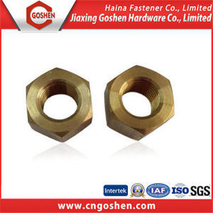 Copper Hex Nut DIN934 / Brass Hexagon Nut with Low Price pictures & photos