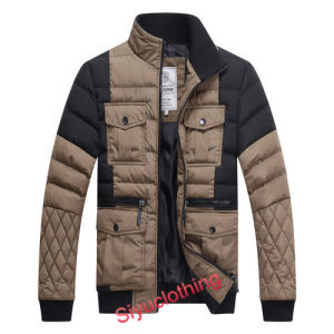 Men Leisure Outdoor Winter Coat Fashion Jacket (J-1611) pictures & photos