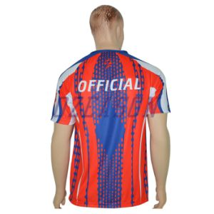 Dye Sublimation Printing Breathable T-Shirt pictures & photos