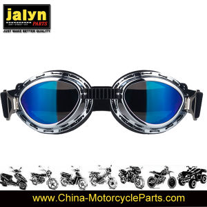 4481037 Fashionable ABS Harley Type Goggle for Motorcycle pictures & photos
