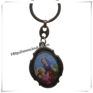 Custom The Virgin Mary Metal Keychain Statue, Keychain (IO-ck095) pictures & photos