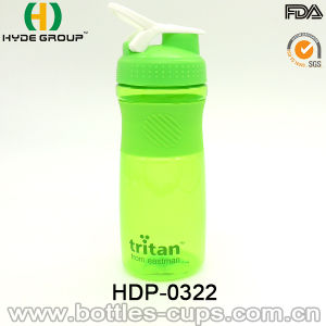 Newly 800ml Plastic Protein Shake Bottle with Ss Ball (HDP-0328) pictures & photos