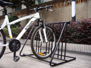 Bicycle Parking Rack with Helmets Hook pictures & photos