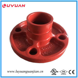 FM/UL Approved Ductile Iron Grooved Adaptor Flange pictures & photos