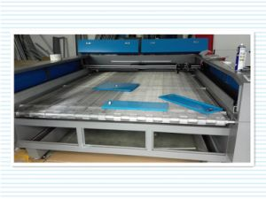 Two Heads Laser Cutting and Engraving Machine for Cloth pictures & photos