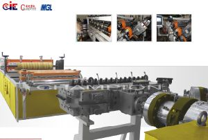 PC/UV Plastic Corrugation Extrusion/Extruder Line/Machine pictures & photos
