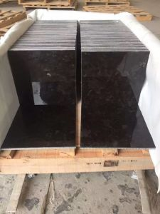 Wholesale Construction Materials Nero Angola Black Granite Clading Wall Tile pictures & photos