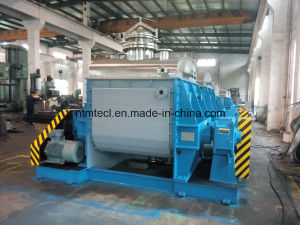 Sigma Mixer with Bottom Pneumatic Ball Valve Discharge for Soap, CMC, Hot Melt Adhesive, Flame Retardant pictures & photos