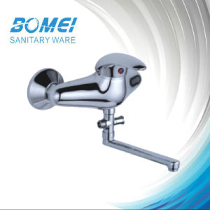 Single Lever Wall Mounted Kitchen Faucet pictures & photos