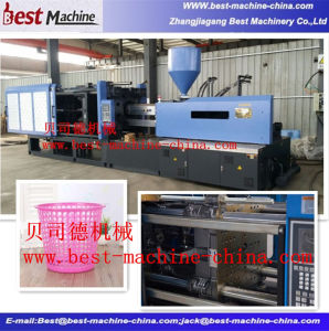 Servo Energy Saving Injection Molding Machine for Plastic Trash Can pictures & photos