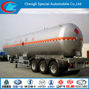 3 Axle LPG Semi-Trailer 50cbm LPG Tanker Trailer 50m3 pictures & photos