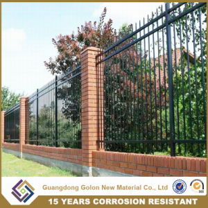Easy Assembled Galvanized Steel Garden Fence pictures & photos