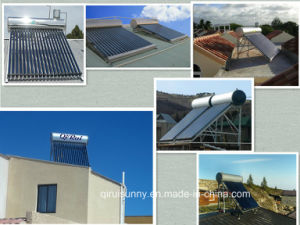 Antifreeze Pressure Solar Energy Water Heater with Keymark En12976 pictures & photos