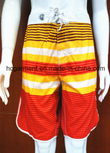 Beach Wear Polyester/Cotton Beach Shorts Quickly Dry for Man pictures & photos