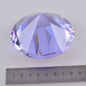 Romantic Wedding Favor Purple Crystal Glass Diamond pictures & photos