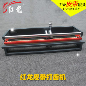 Holo Manual Finger Puncher Cutting Machine for Conveyor Belt pictures & photos