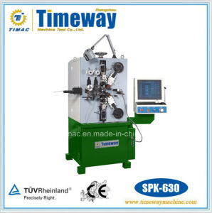Six-Axes Numeric Control Profile Roll-up Spring Machine pictures & photos