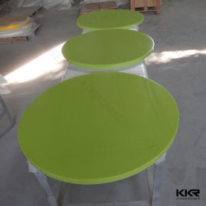 Artificial Stone Round Table Marble Table Top for Restaurant pictures & photos