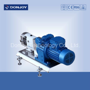 3A Certificated Lobe Pump with Built-in Safety Valve 6 Bar Clamp Connection pictures & photos