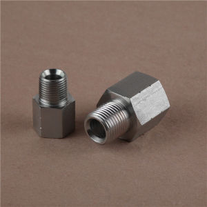 Metric Male L-Series/NPT Female Hydraulic Adapter pictures & photos