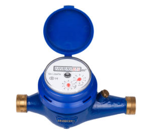 """Multi Jet Brass Water Meter, Dry Type (1/2"""" to 3/4"""") pictures & photos"""