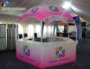 Full Color Dye Sublmation Print Dome Event Tradeshow Tents pictures & photos