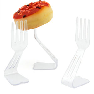PP/PS Plastic Fork Standing Fork Disposable Products pictures & photos