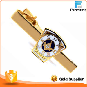 Gold Color Top Quality Custom Metal Tie Bar pictures & photos