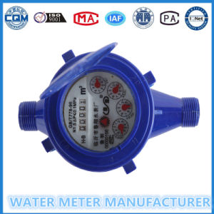 ABS Plastic Mechanical Water Meter of Multi Jet Dry Dial Cold Meter pictures & photos