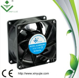 Waterproof Exhaust Fan 80mm 8038mm High Speed Axial Flow DC Fan Strong Wind Small Fan pictures & photos