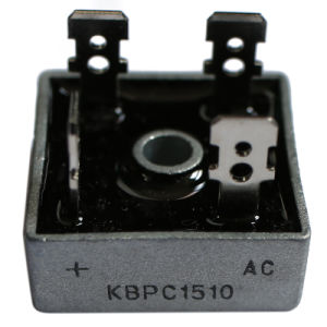 Bridge Rectifiers Kbpc Series 15A, 50-1000V Rectifier Bridge Diode Kbpc1506 pictures & photos