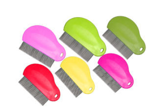 Pet Stainless Steel Hair Grooming Lice Comb pictures & photos