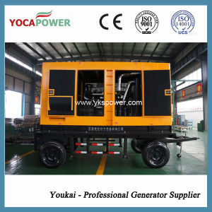 200kw/250kVA Silent Mobile Diesel Engine Power Electric Generator pictures & photos