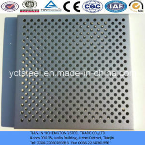 Sound Absorption Perforated Aluminium Plate with Round Holes pictures & photos