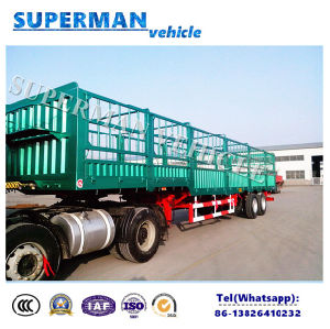 13m Cargo Transport Stake Semi Truck Trailer pictures & photos
