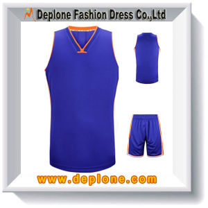 New Style Sport Wear Wholesale Cheap Reversible Basketball Uniforms (SK1919)