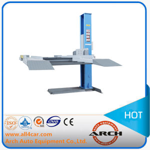 Ce Hydraulic Auto Car Lifter Single Post Lift (AAE-SP130) pictures & photos