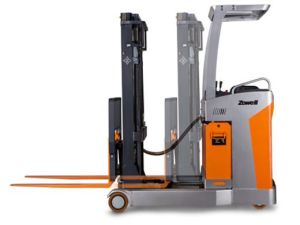 Zowell Ce Hot Sale New 1.5 Ton Electric Reach Truck pictures & photos