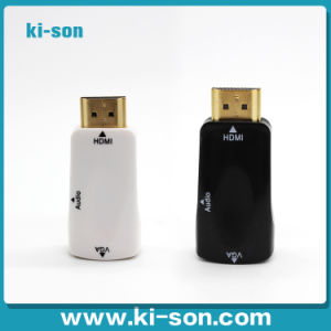 HDMI to VGA Female Adapter with Audio for Tablet