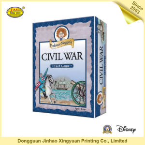 2016 Manufacture Custom Paper Card Puzzle Game