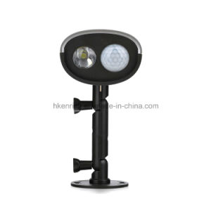 LED Solar Power IP65 Motion Sensor Wall Light Outdoor Lamp Waterproof pictures & photos