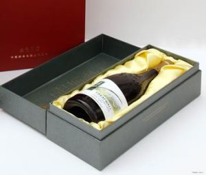 Wholesale Custom Luxury Cardboard Paper Gift Box Wine Gift Box pictures & photos